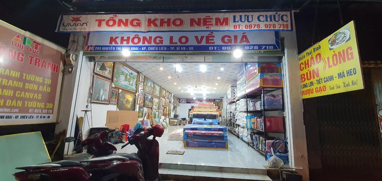 Cửa Hàng Nệm Tân Long Dĩ An